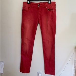 Vigoss Studio Red Jeans